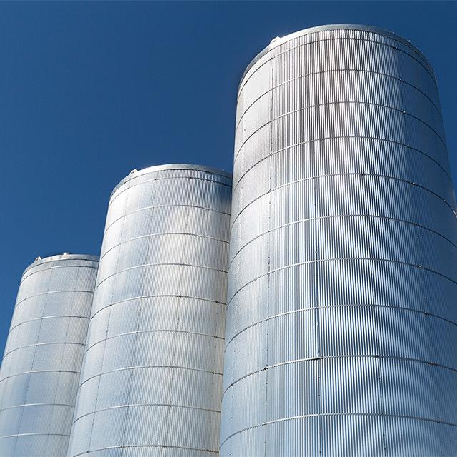 Three ACS Tech product silos