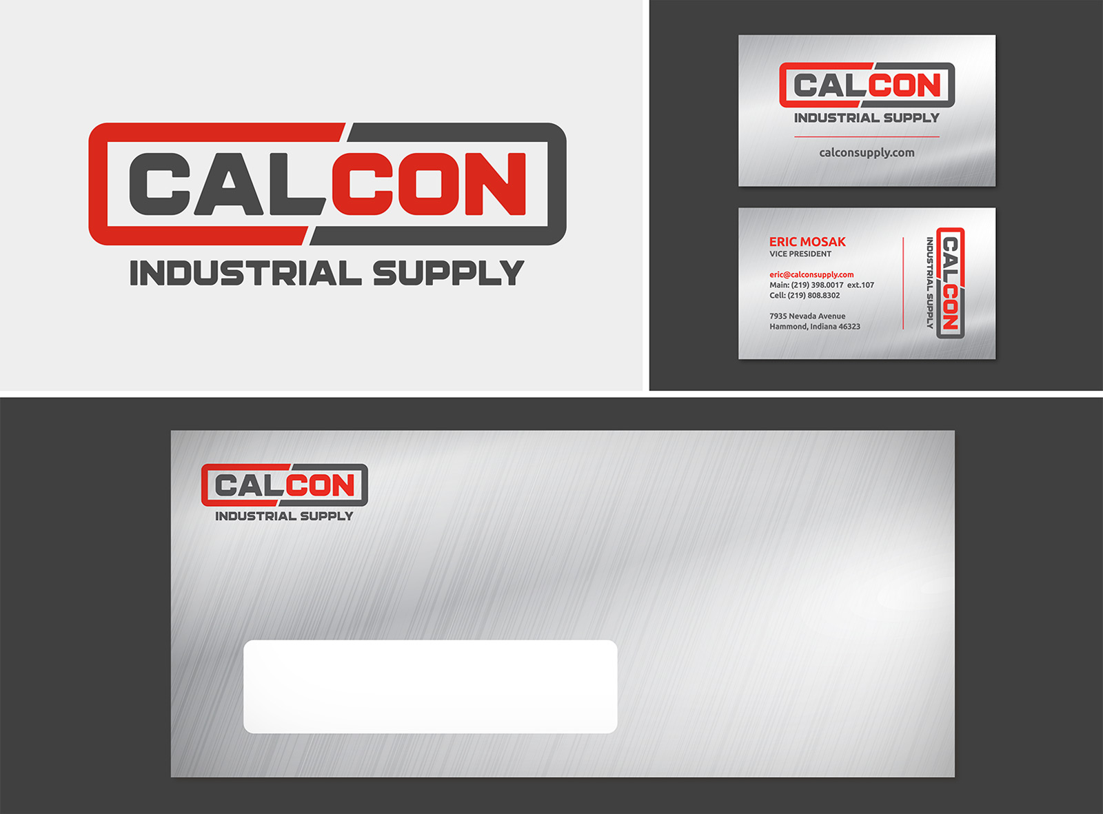 CalCon logo design