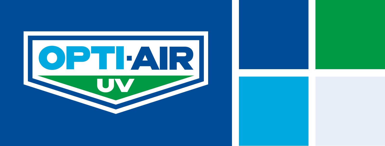 Opti-Air UV design and branding