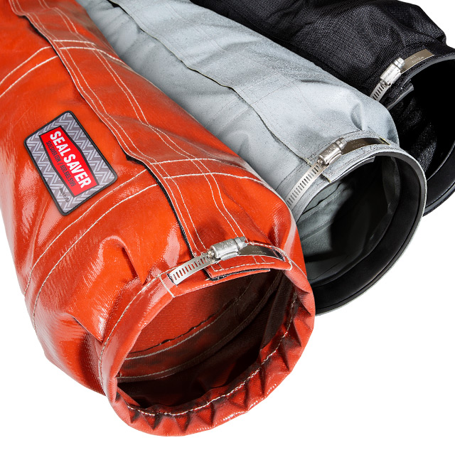 Three Seal Saver cylinder protective boots