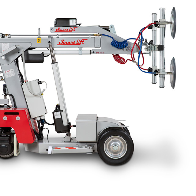 Profile of SmartLift® glass lifting machine