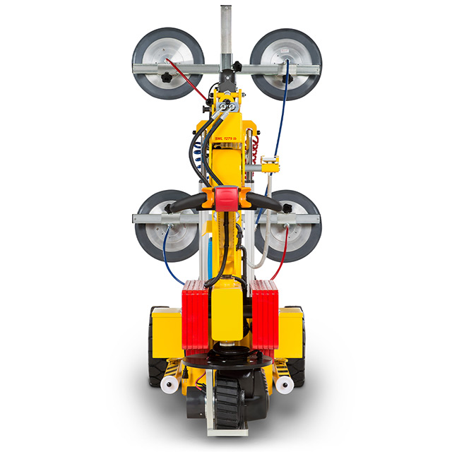 SmartLift® glass lifting machine back view