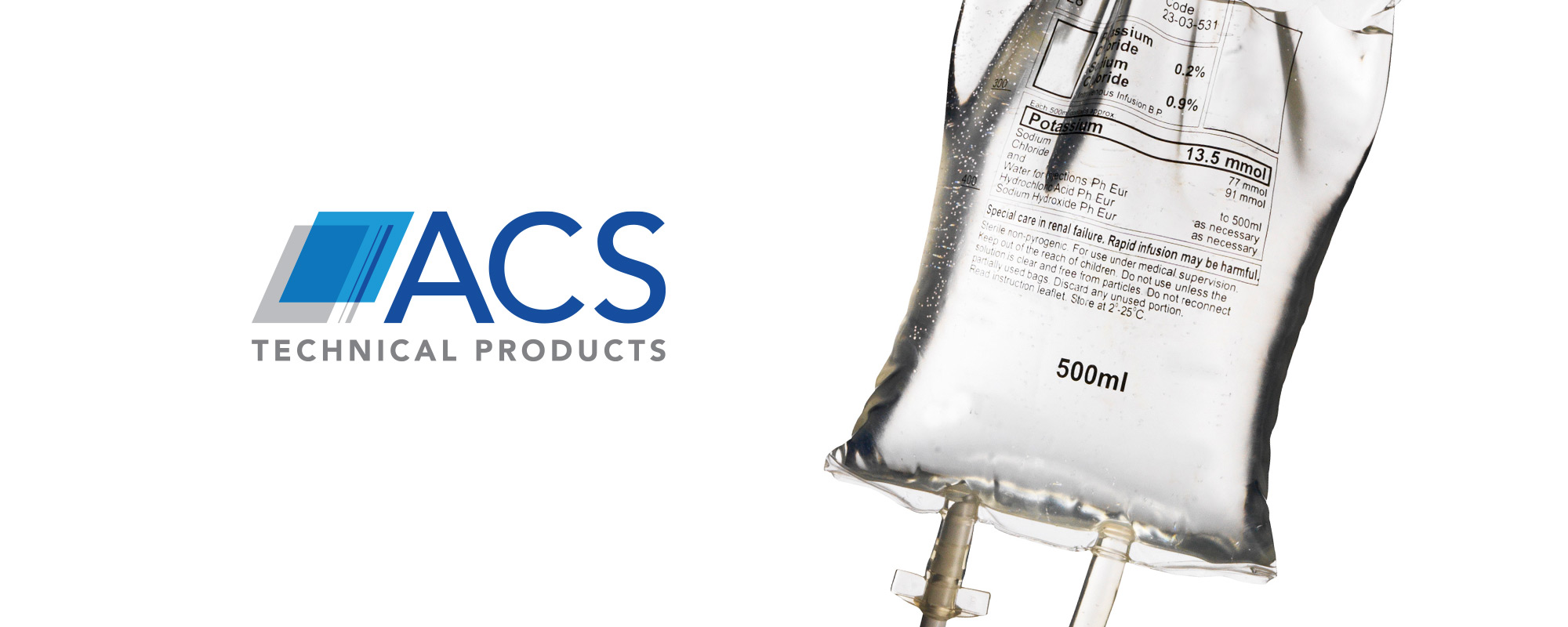 ACS Technical Products Medical Drip Bag