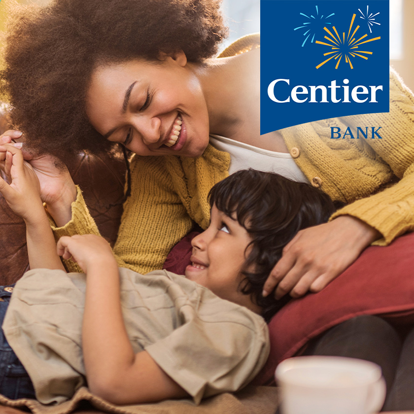 Centier Bank lifestyle ad