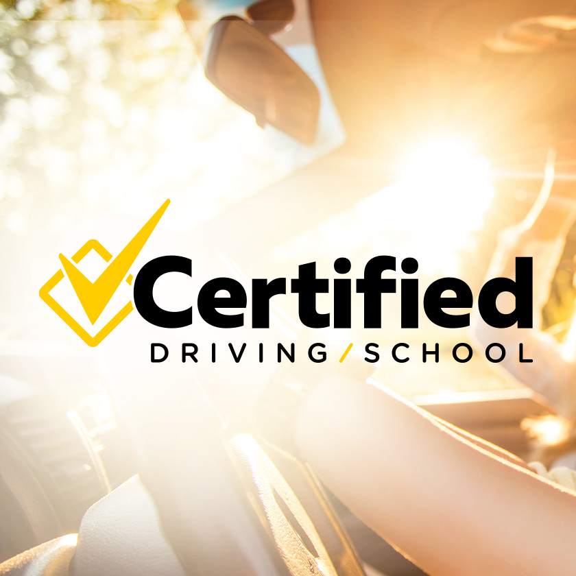 Certified Driving School logo