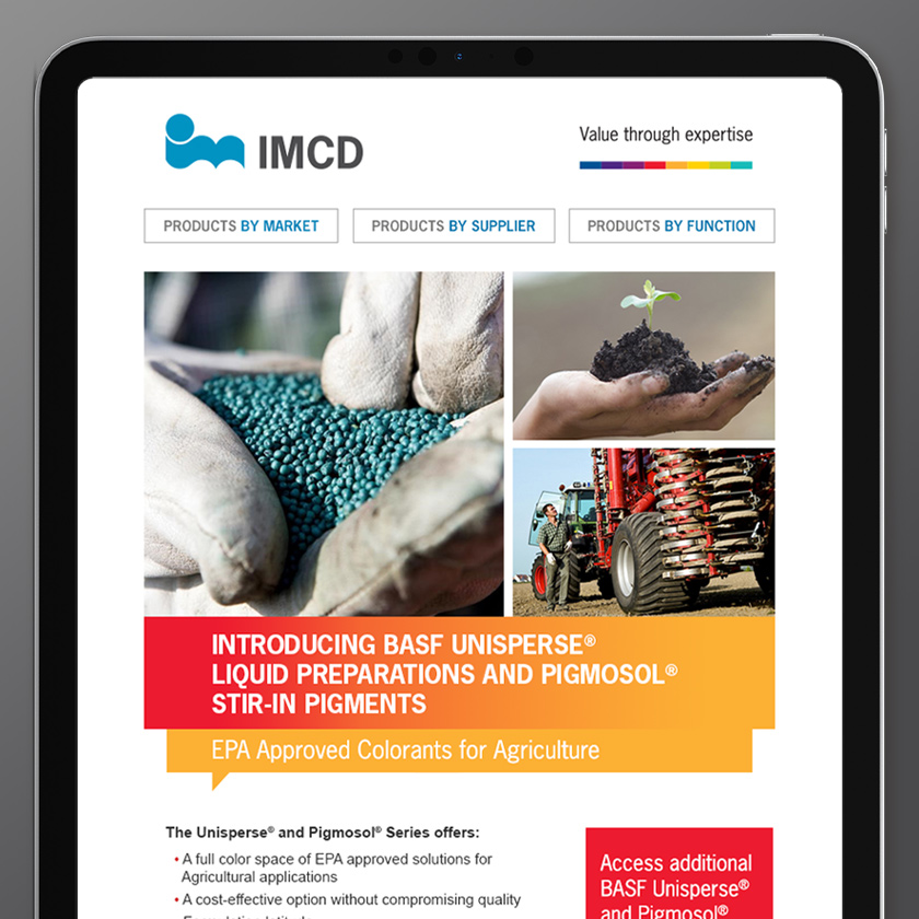 IMCD website landing page